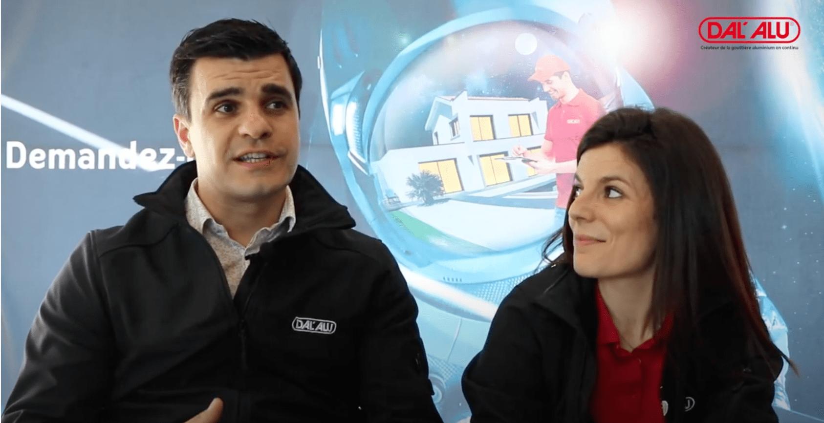 William Goncalves et Jessica Legale : le challenge d'entreprendre avec Dal'Alu