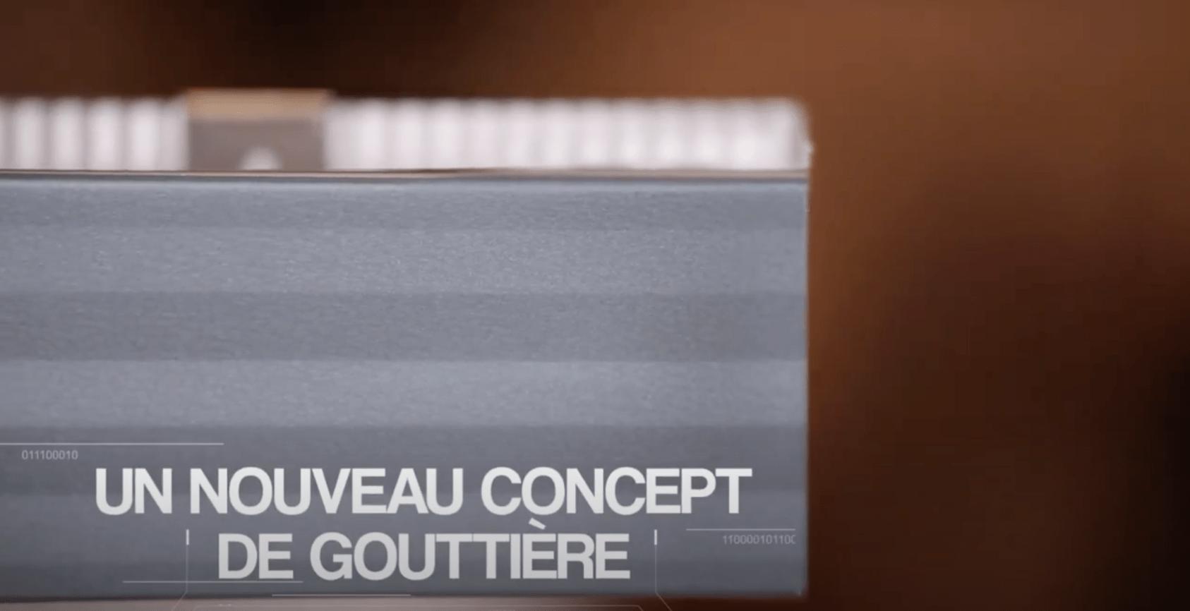 gouttière sans silicone